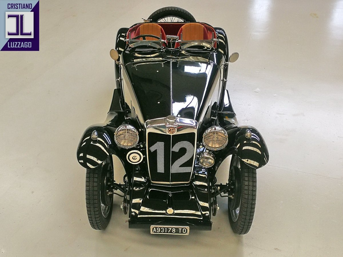1934 EX RACING MG PA from QUATTRORUOTE  MUSEUM For Sale (picture 2 of 6)