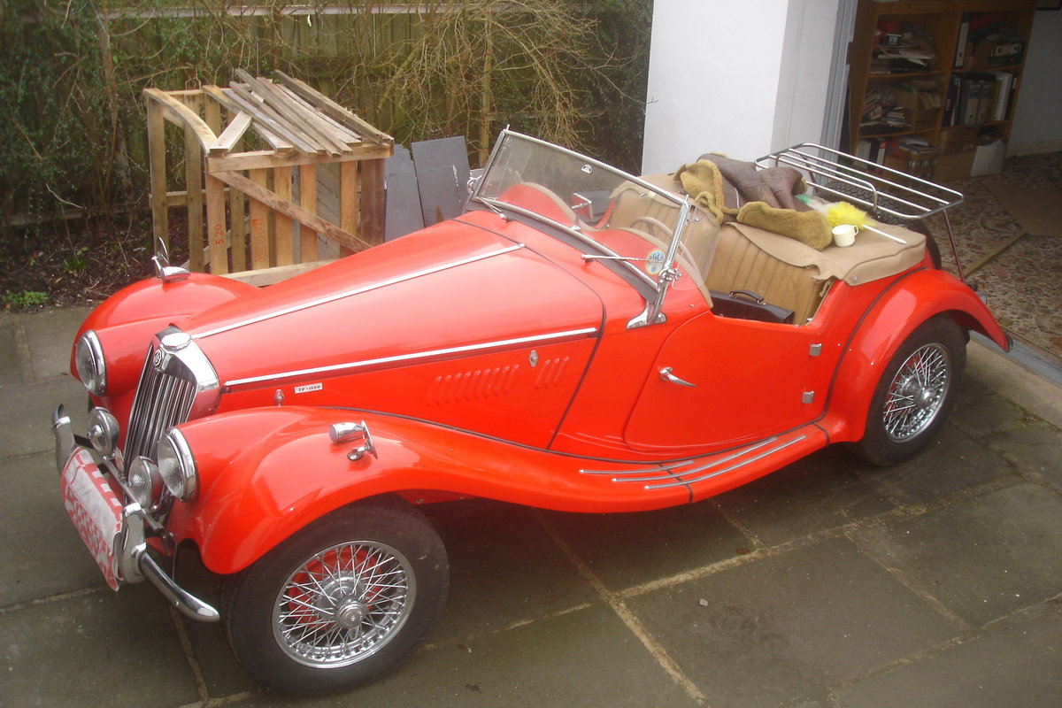 1954 MG TF FOR SALE For Sale (picture 1 of 6)