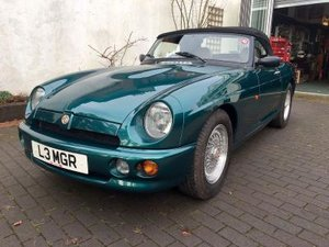 1993 MG R V8 For Sale by Auction