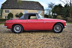 1967 MG B Roadster with Overdrive For Sale