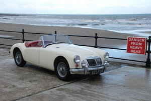 1961 MGA 1600 MK 2 Roadster. Rare original RHD UK car. For Sale