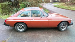 MGB GT registered as historic but with new MOT
