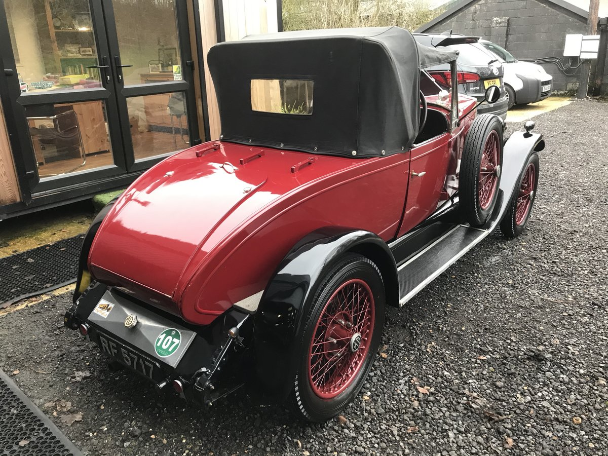 1929 MG 14/40 Two Seater with Dickey For Sale (picture 3 of 18)