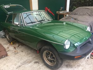 1981 MG BGT 1800 with overdrive