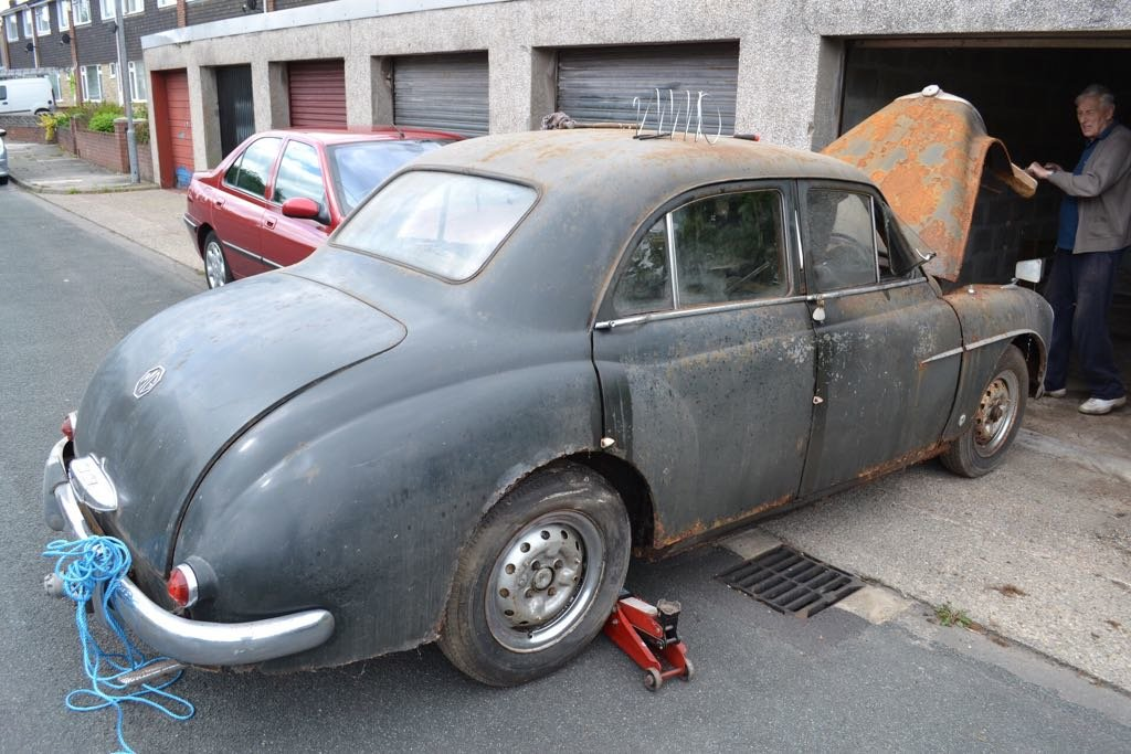 1955 ZA looking for good home for restoration For Sale (picture 1 of 6)