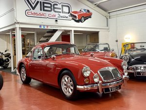 1960 MGA Coupe MK1 1600 - UK Matching Numbers - Detailed History For Sale