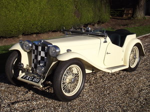 1939 MG TA Midget. Excellent order throughout. SOLD