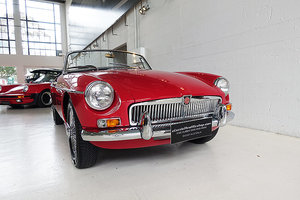 Picture of 1966 superb early MG B Mk1, AUS delivered, Tartan Red, Overdrive SOLD