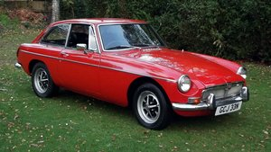 Picture of 1974 MGB GT COUPE CHROME BUMPERS AND OVERDRIVE SOLD