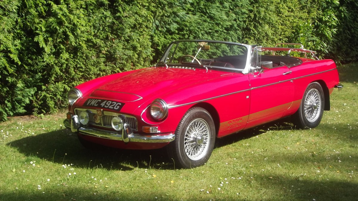 1968 MG C AUTOMATIC Sports roadster SOLD (picture 3 of 6)