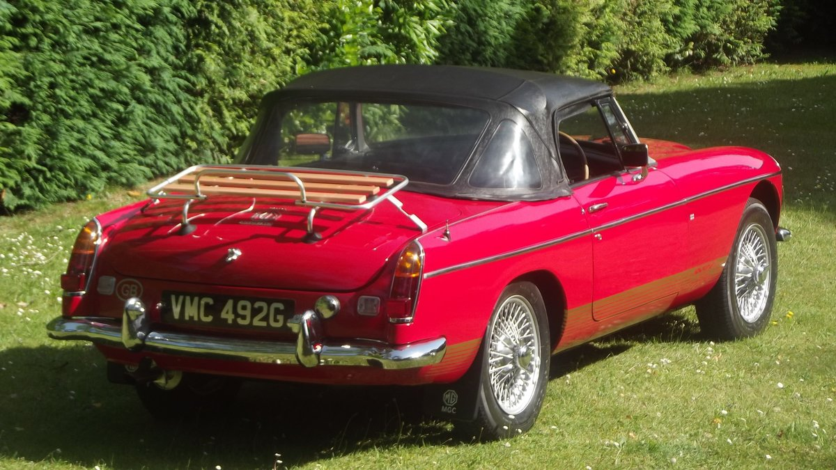 1968 MG C AUTOMATIC Sports roadster SOLD (picture 6 of 6)