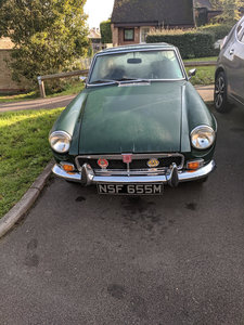 1973 MGB GT In beautiful condition