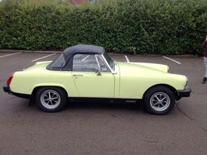 1976 MG Midget 1500 For Sale by Auction