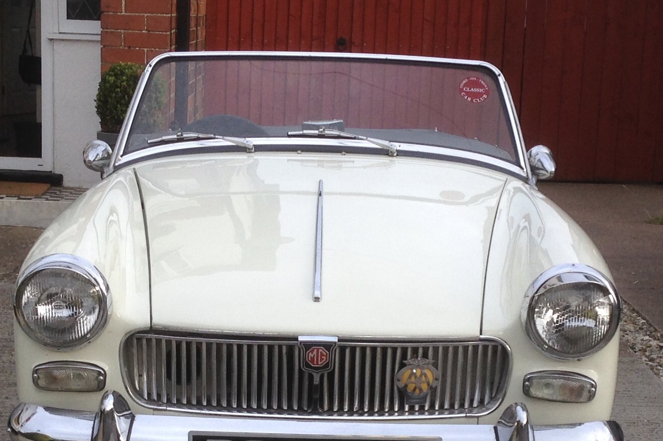 1962 MG MIDGET MK1   For Sale (picture 1 of 5)