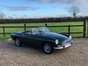 MGB Roadster 1964 Pull Handle classic car with overdrive