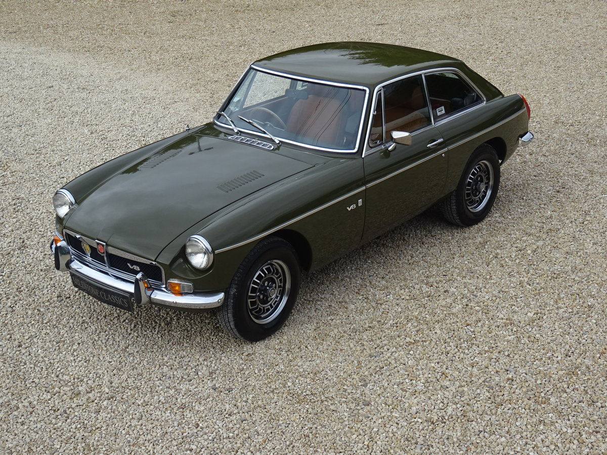 1973 MGB GT V8 – Time Warp Condition For Sale (picture 1 of 6)
