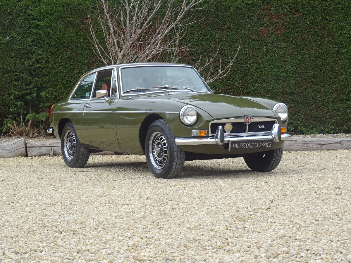 1973 MGB GT V8 – Time Warp Condition For Sale (picture 2 of 6)