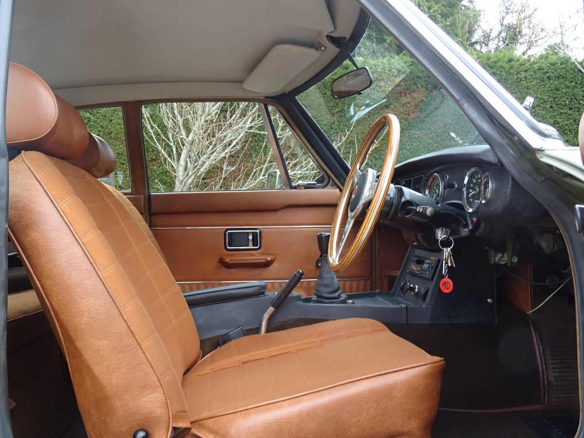 1973 MGB GT V8 – Time Warp Condition For Sale (picture 6 of 6)