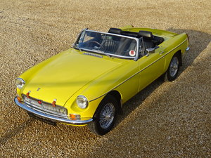 1977 MGB Roadster – Photographic Restoration
