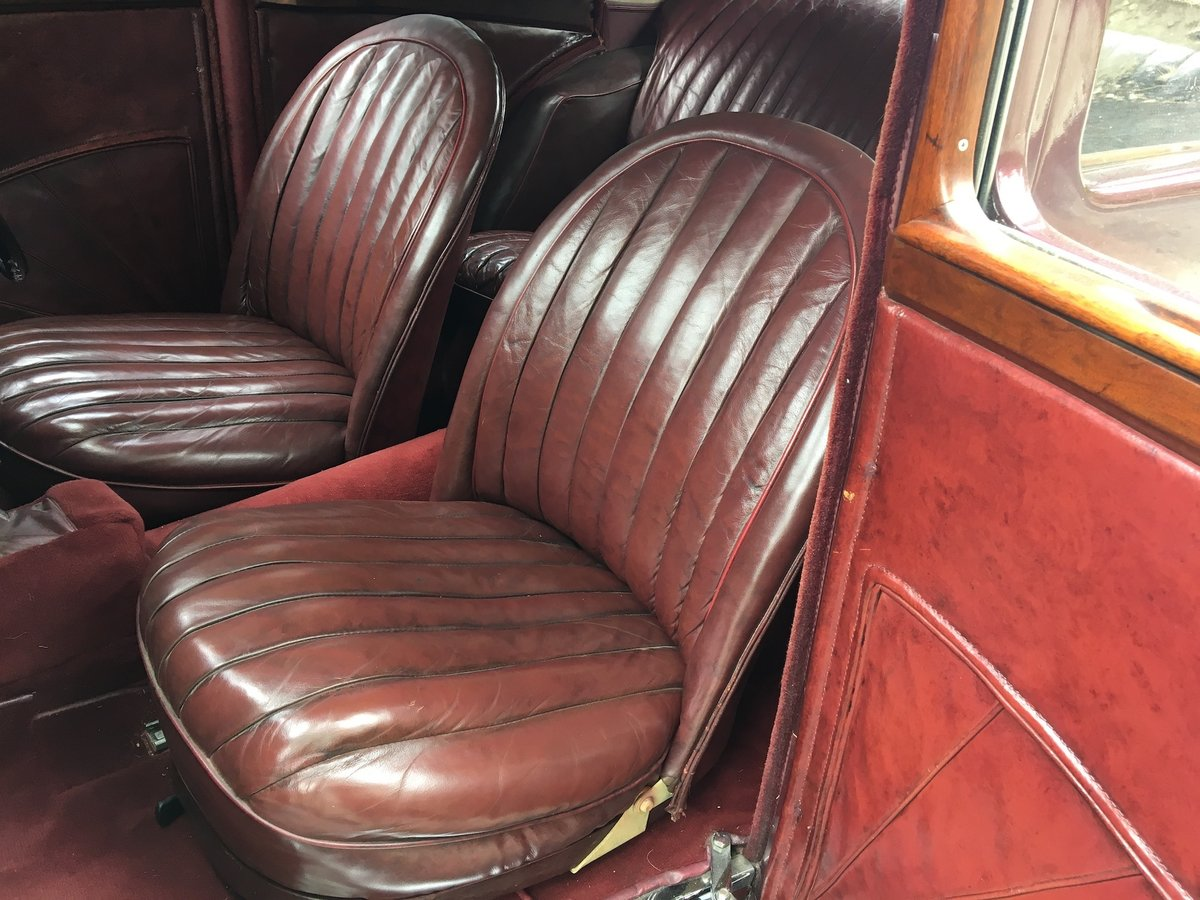 1936 MG VA Saloon - Significant History- Olympia Motor  For Sale (picture 17 of 18)