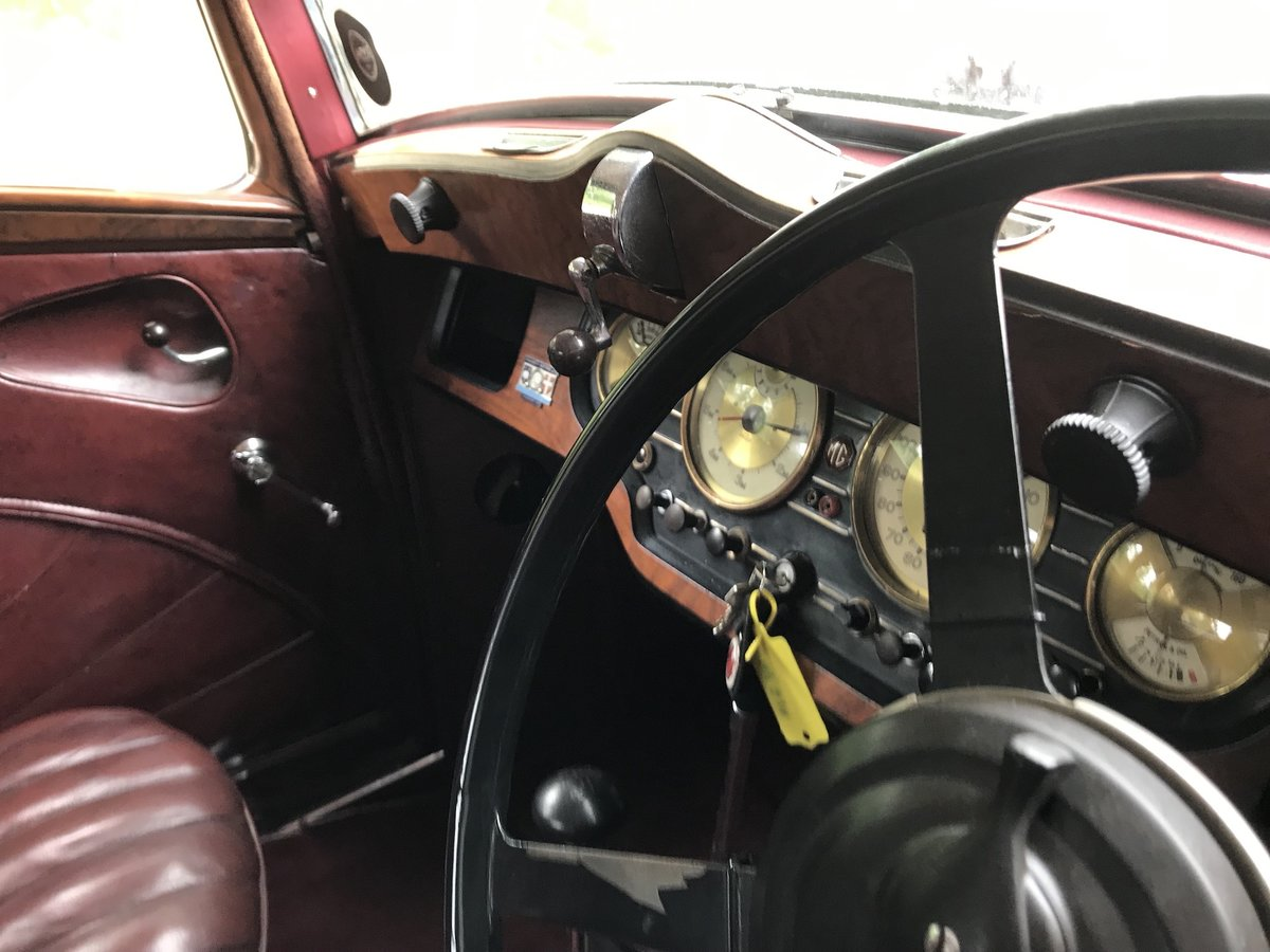 1936 MG VA Saloon - Significant History- Olympia Motor  For Sale (picture 18 of 18)