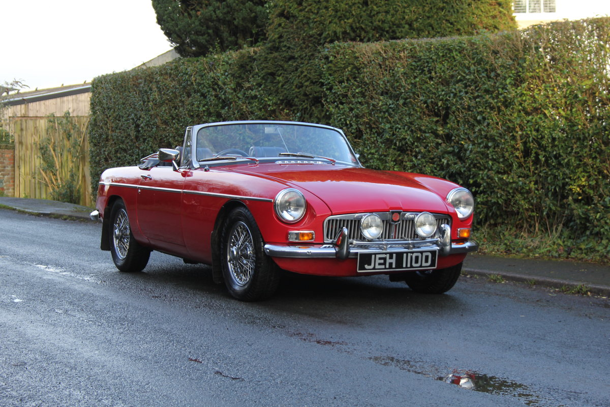 1966 MG B Roadster, Stage 2, 2.0 Spec, Beautiful Throughout For Sale (picture 1 of 20)