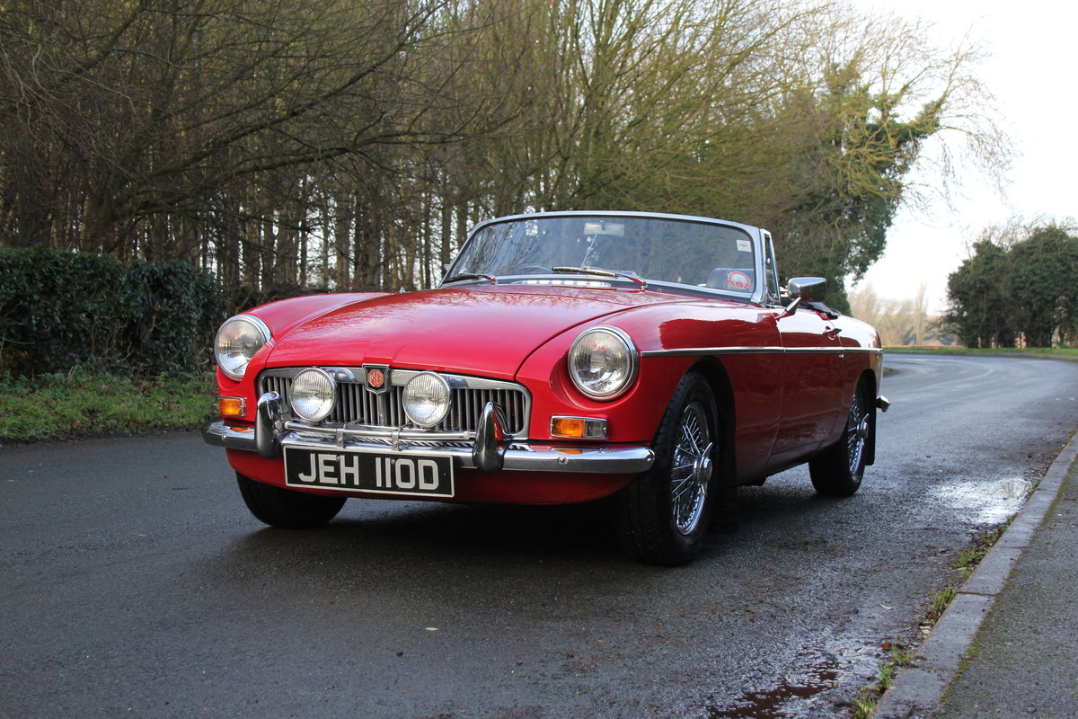 1966 MG B Roadster, Stage 2, 2.0 Spec, Beautiful Throughout For Sale (picture 3 of 20)