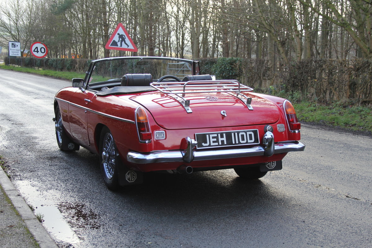 1966 MG B Roadster, Stage 2, 2.0 Spec, Beautiful Throughout For Sale (picture 4 of 20)
