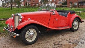 1953 MG TD Midget