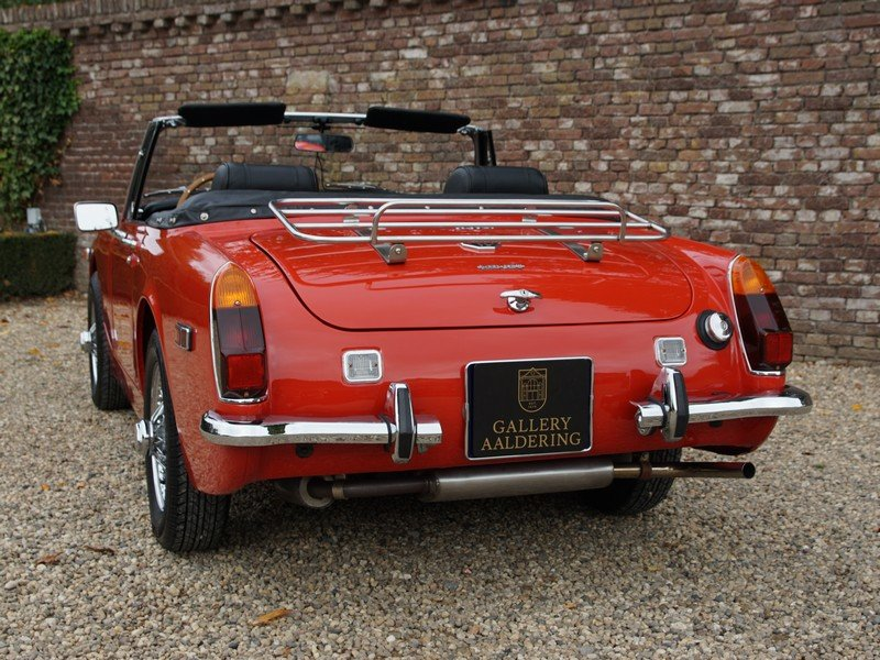 1971 MG Midget MK3 Complete restored condition, just stunning For Sale (picture 6 of 6)