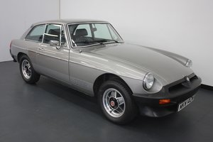 1980 MGB GT LE 1 of 580 CARS PRODUCED