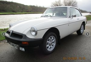 1979 MGB GT LOW MILAGE  For Sale