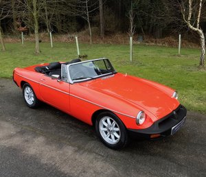 1980 MGB Roadster - Minilites, rebuilt engine, a cherished gem!