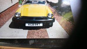 1978 MG Midget 80% restored