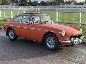 1975 MGB GT Recent restoration