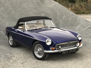 MGB Roadster fully rebuilt on Heritage shell