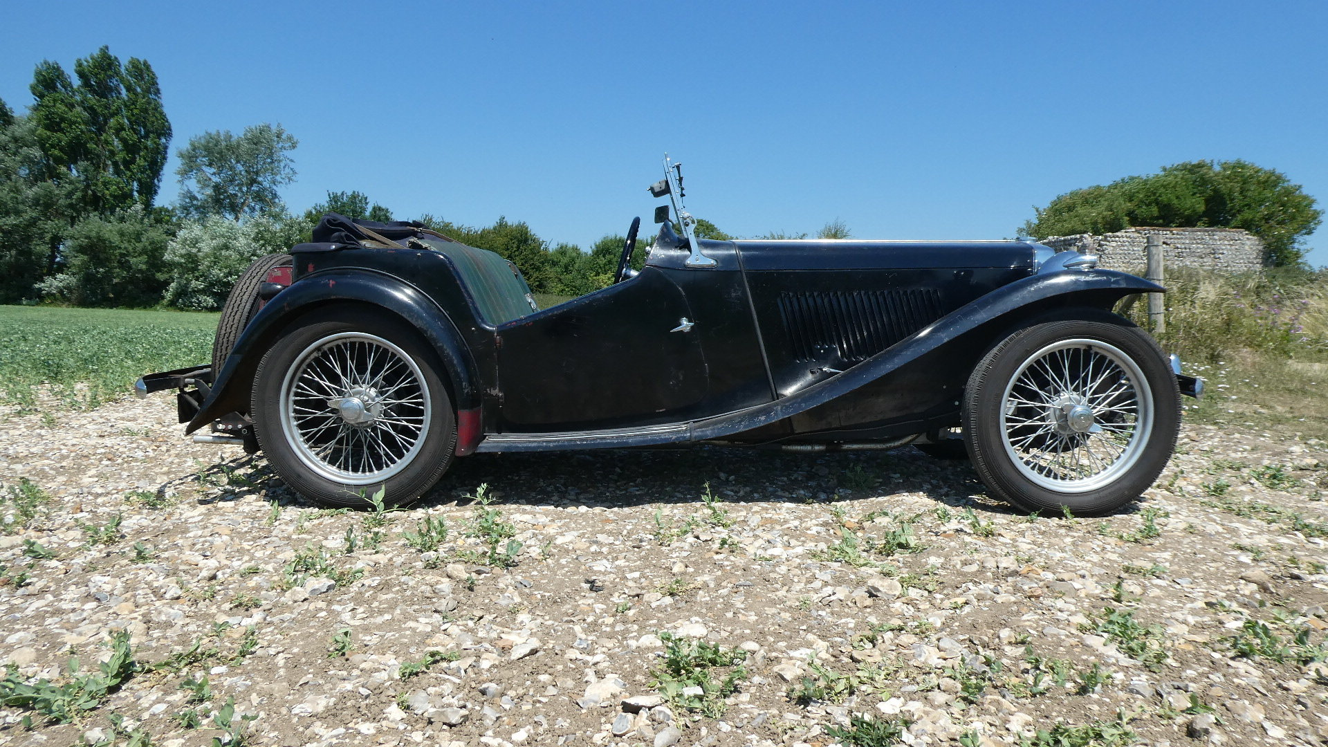 MGTC EXU 1949 Rare Model  For Sale (picture 1 of 6)