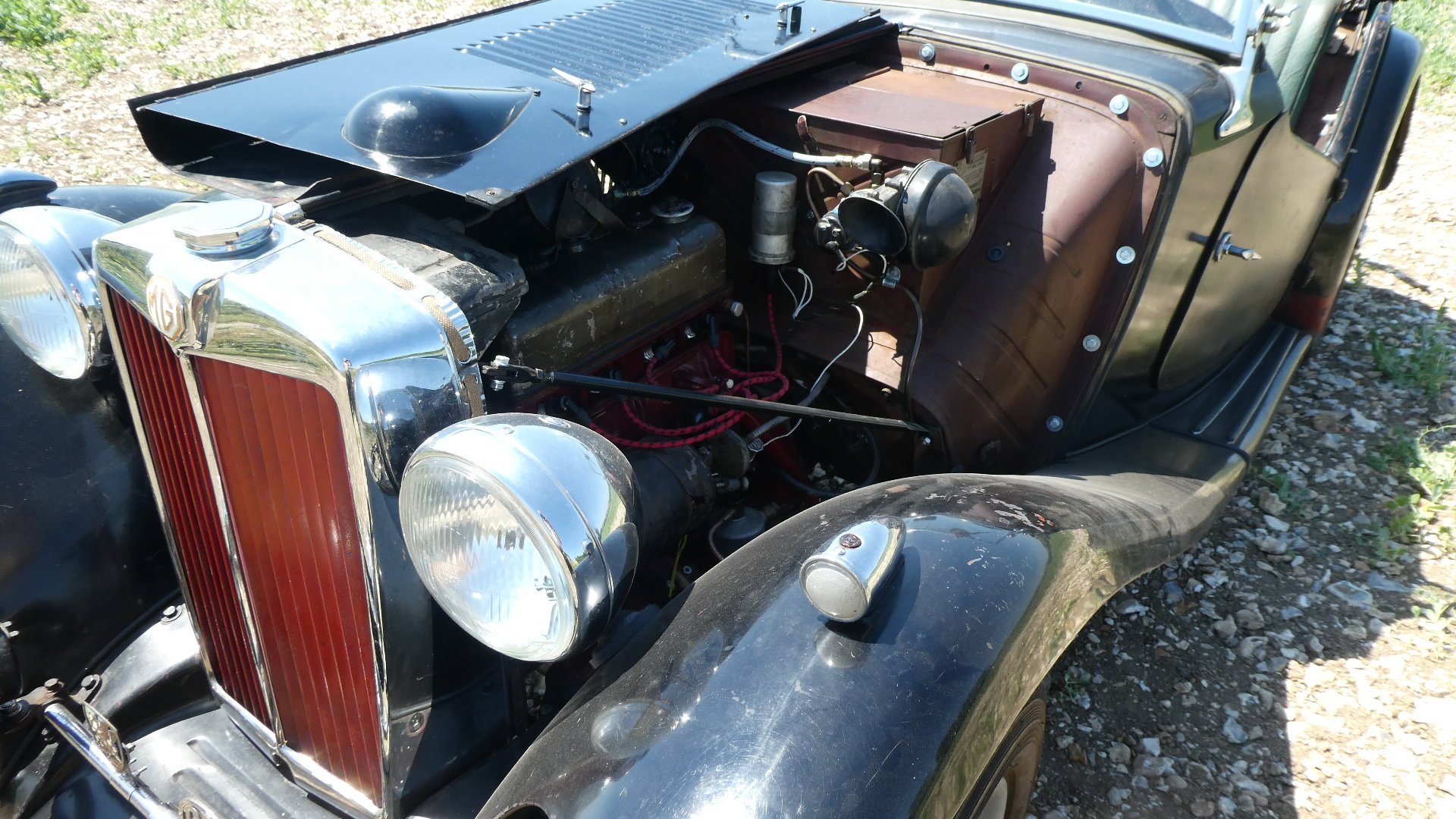 MGTC EXU 1949 Rare Model  For Sale (picture 5 of 6)