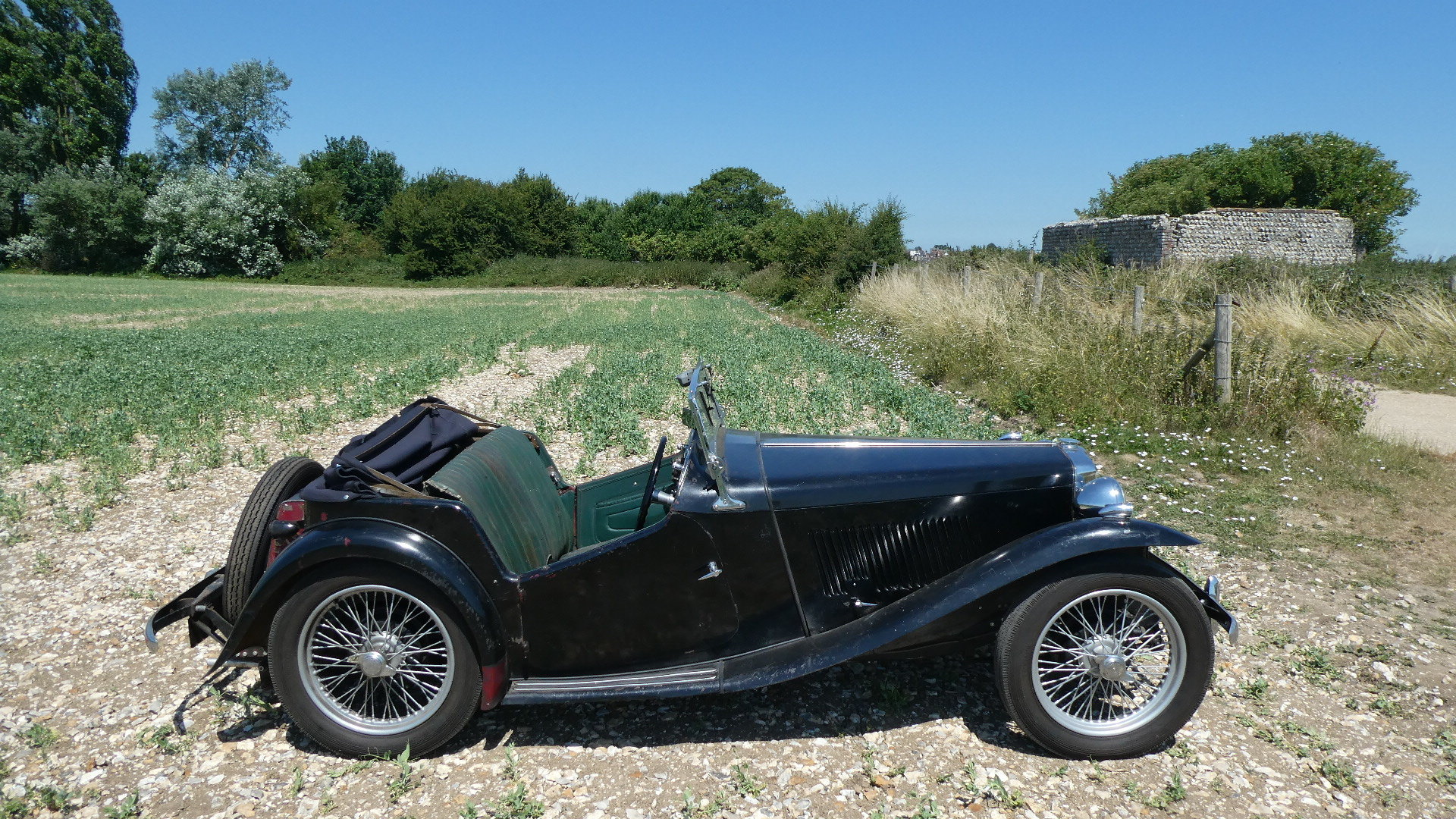 MGTC EXU 1949 Rare Model  For Sale (picture 6 of 6)