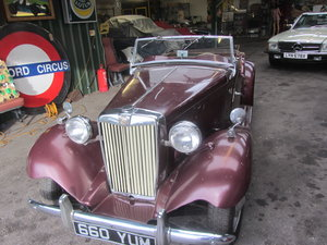 MGTD 1951 LHD For Sale
