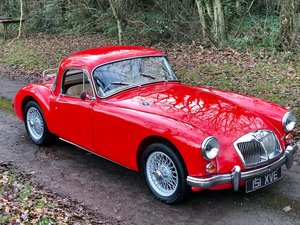 1961 MG A Coupe For Sale