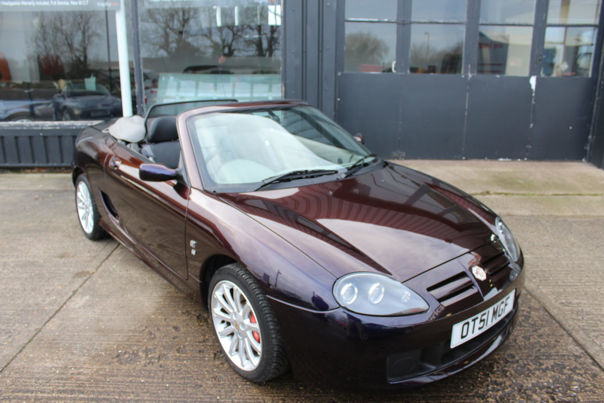 2004 MGTF 160,EXTRAORDINARY CAR,LAST TF REMAINING IN THIS COLOUR For Sale (picture 1 of 6)