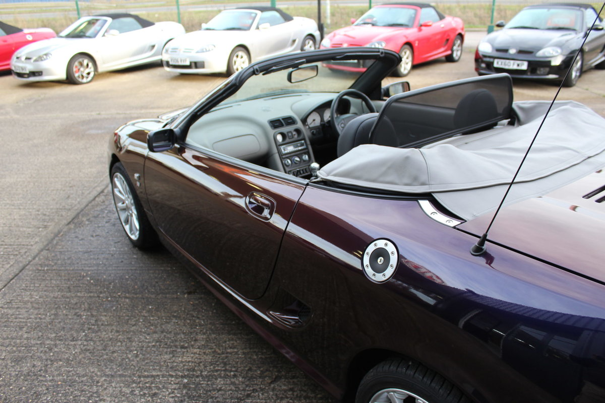 2004 MGTF 160,EXTRAORDINARY CAR,LAST TF REMAINING IN THIS COLOUR For Sale (picture 5 of 6)