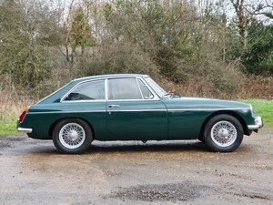 MG B GT, 1972, British Racing Green For Sale