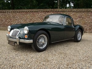 1961 MG A 1600 Coupé MK1 fully restored, mint condition, only 851 For Sale