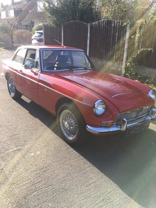 MGC GT  Manual Right Hand Drive