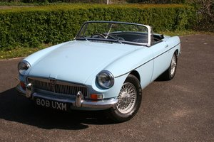 MGB ROADSTER EARLY PRODUCTION CAR