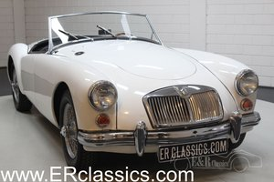 MGA Cabriolet 1961 Disc brakes front