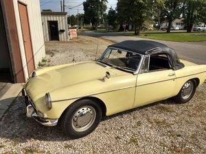 1964 MG B Roadster Early Pull Handle Good Mechanics -