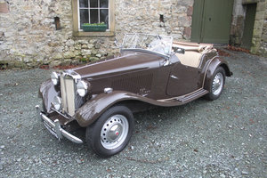 1952 MG TD Superb condition and Super History....
